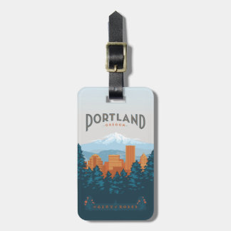 Portland, OR Bag Tag