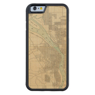 Portland, Or Carved® Maple iPhone 6 Bumper Case
