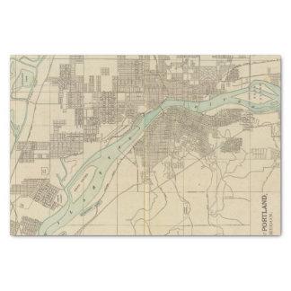 "Portland, Or 10"" X 15"" Tissue Paper"