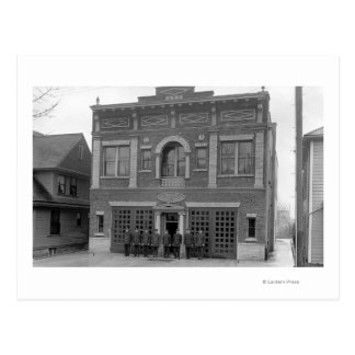 Portland, OR Fire Station #17 View Photograph Postcard