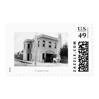 Portland, OR Fire Station #30 Horse Cart Postage
