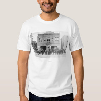 Portland, OR Fire Station Horse Drawn and Men T-Shirt