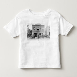 Portland, OR Fire Station Horse Drawn and Men Toddler T-shirt