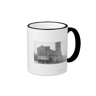 Portland, OR Fire Station View and Tower Ringer Mug