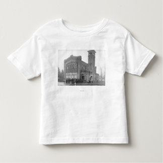 Portland, OR Fire Station View and Tower Toddler T-shirt