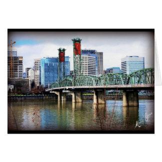 Portland, OR Greeting Card