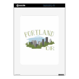 Portland OR iPad Decal