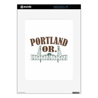 Portland OR iPad Skins