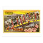Portland, OR Large Letter Card Post Card