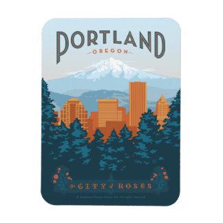 Portland, OR Magnet