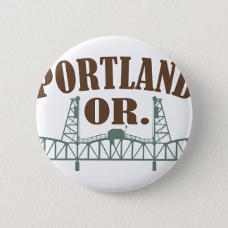 Portland OR Pinback Button