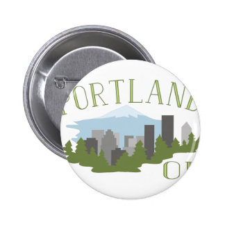 Portland OR Pinback Button