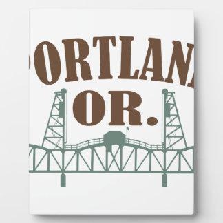 Portland OR Plaque