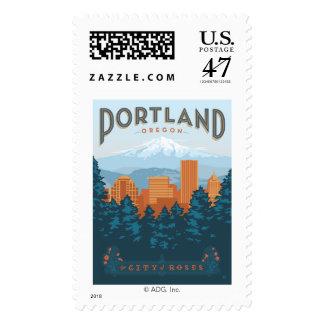 Portland, OR Postage