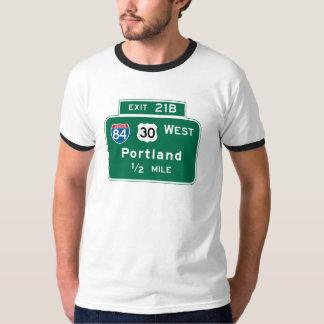 Portland, OR Road Sign T-Shirt