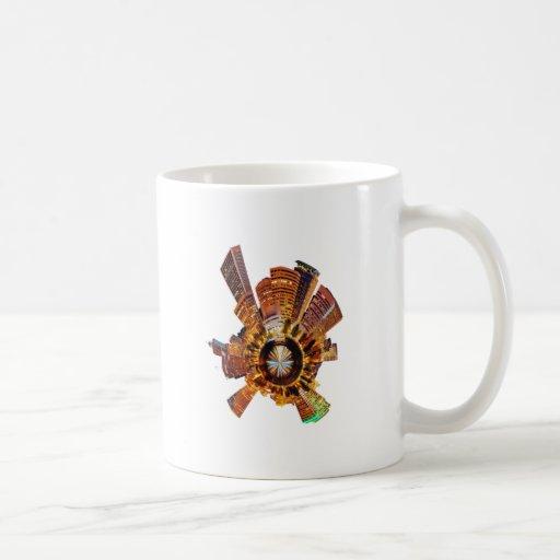 PORTLAND OR SKYLINE COFFEE MUGS