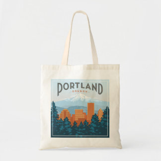 Portland, OR Tote Bag