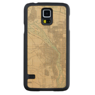 Portland, Or Carved® Maple Galaxy S5 Case