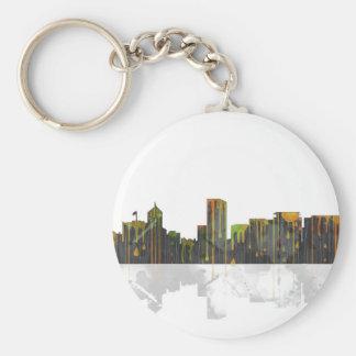 Portland Oregan Skyline Keychain