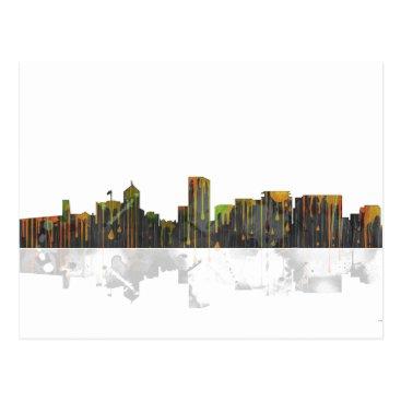 Portland Oregan Skyline Postcard