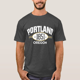 PORTLAND OREGON 1851 CITY INCORPORATED TEE