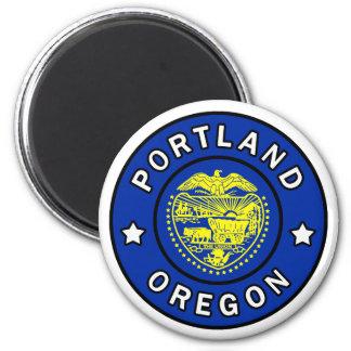 Portland Oregon 2 Inch Round Magnet