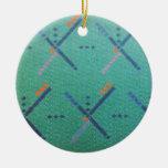 Portland Oregon Airport Carpet Ceramic Ornament
