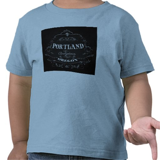 Portland, Oregon - Bridgetown Camiseta