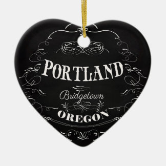 Portland, Oregon - Bridgetown Ceramic Ornament