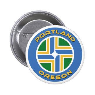 Portland, Oregon Button