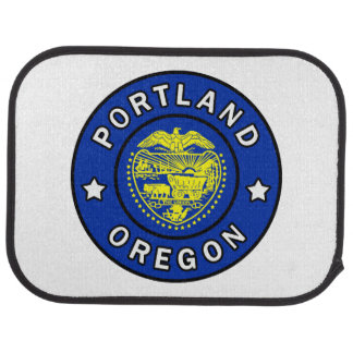 Portland Oregon Car Mat
