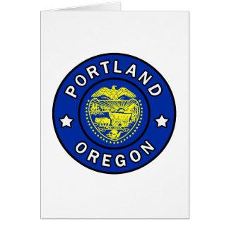 Portland Oregon Card
