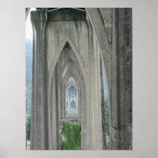 Portland Oregon Cathedral Park Poster 5