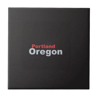 Portland, Oregon Ceramic Tile