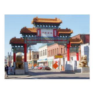 Portland Oregon Chinatown Gate Postcard