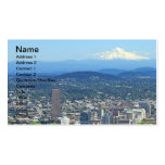 Portland, Oregon City and Mountain View Double-Sided Standard Business Cards (Pack Of 100)