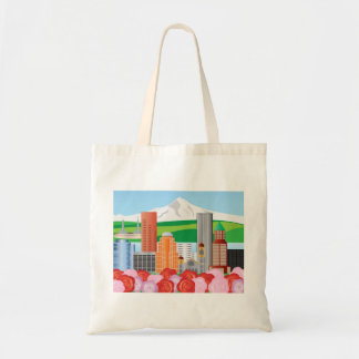 Portland Oregon Cityscape Bag