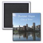 Portland Oregon - ciudad del imán de los rosas