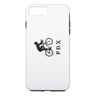 Portland Oregon Cycling PDX Acronym iPhone 8 Plus/7 Plus Case