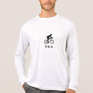 Portland Oregon Cycling PDX Acronym T-Shirt