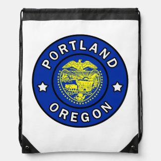 Portland Oregon Drawstring Bag
