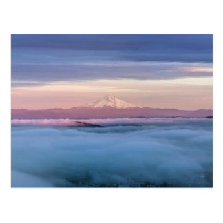 Portland Oregon en el centro de la ciudad cubierto Postal
