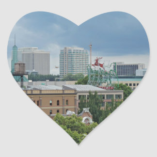 Portland Oregon Heart Sticker