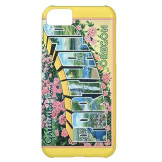Portland Oregon Large Letter Greetings iPhone 5C Cases