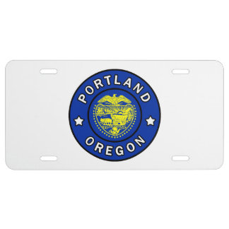 Portland Oregon License Plate