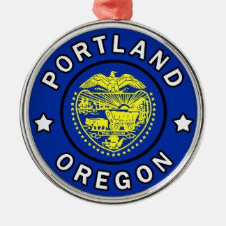 Portland Oregon Metal Ornament