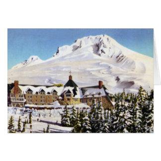 Portland Oregon Mt. Hood Timberline Lodge Card