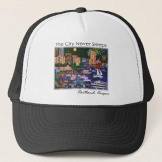 Portland Oregon @ Night Trucker Hat