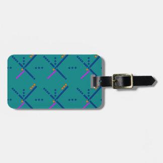 Portland Oregon PDX Airport Carpet Bag Tag