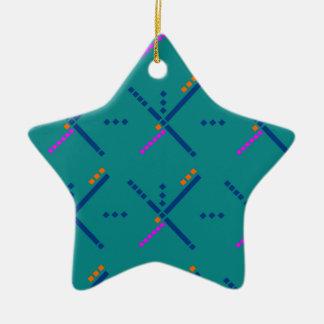 Portland Oregon PDX Airport Carpet Ceramic Ornament